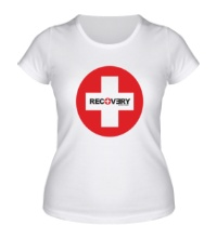 Женская футболка Recovery Album