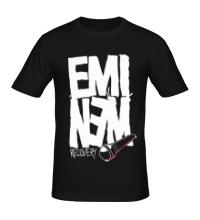 Мужская футболка Eminem: Recovery