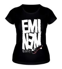 Женская футболка Eminem: Recovery