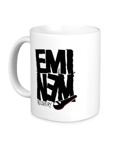 Керамическая кружка Eminem: Recovery
