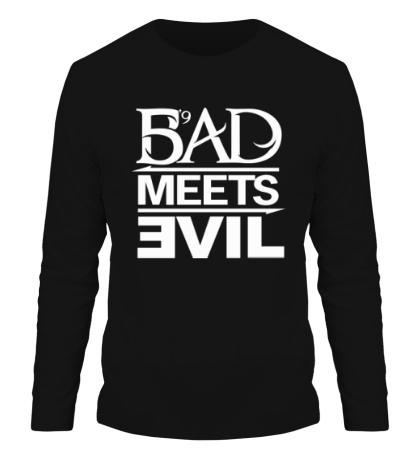 Мужской лонгслив Bad Meets Evil