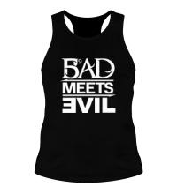 Мужская борцовка Bad Meets Evil