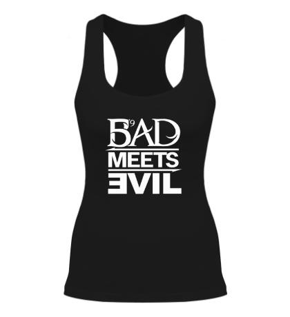 Женская борцовка Bad Meets Evil