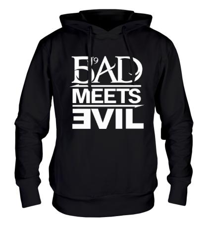 Толстовка с капюшоном Bad Meets Evil