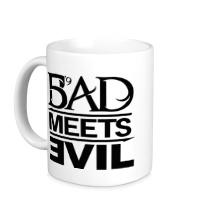Керамическая кружка Bad Meets Evil