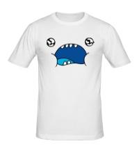 Мужская футболка Смешная рожа