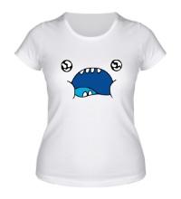 Женская футболка Смешная рожа
