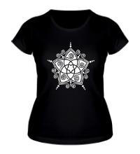 Женская футболка Восточная звезда