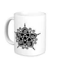 Керамическая кружка Восточная звезда