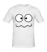 Мужская футболка Глупая рожица