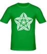 Мужская футболка «Звезда узор» - Фото 1