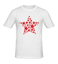 Мужская футболка Космическая звезда