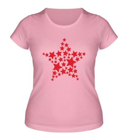 Женская футболка Космическая звезда