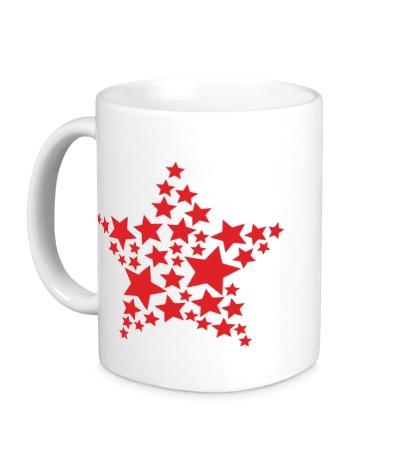 Керамическая кружка Космическая звезда