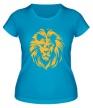 Женская футболка «Царский лев» - Фото 1