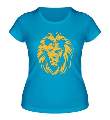 Женская футболка «Царский лев»