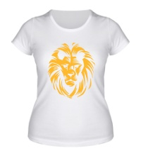 Женская футболка Царский лев