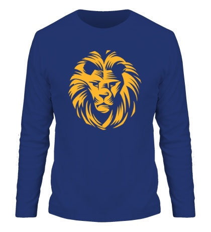 Мужской лонгслив Царский лев