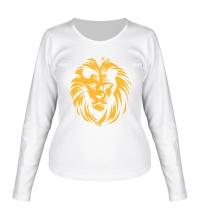Женский лонгслив Царский лев