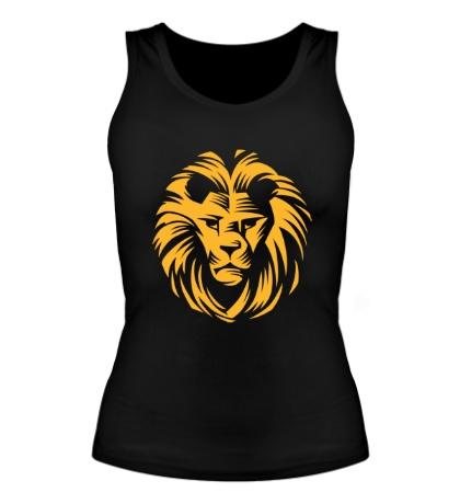 Женская майка Царский лев