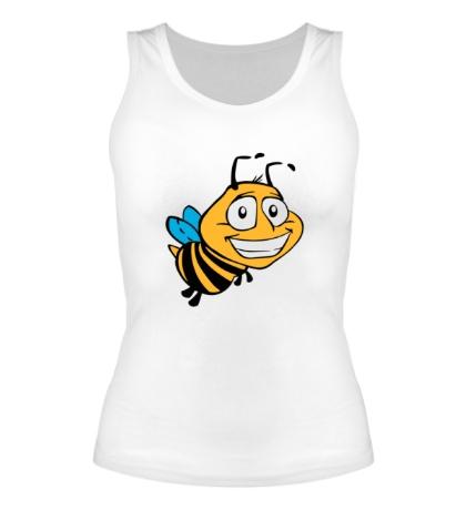 Женская майка Улыбчивая пчелка