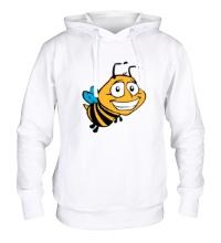 Толстовка с капюшоном Улыбчивая пчелка