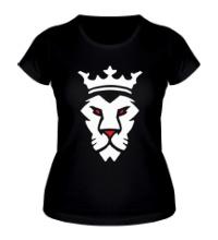 Женская футболка Царь зверей