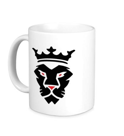 Керамическая кружка Царь зверей