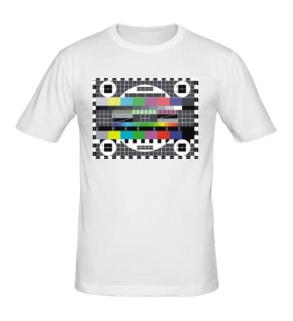 Мужская футболка Тестовая таблица