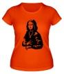 Женская футболка «Стильная Мона Лиза» - Фото 1
