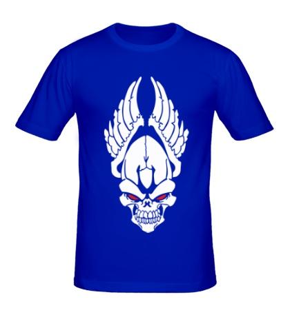 Мужская футболка Череп ангела