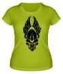 Женская футболка «Череп ангела» - Фото 1