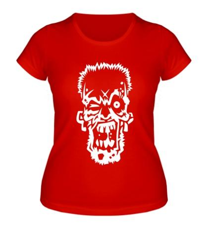 Женская футболка Зомбарь