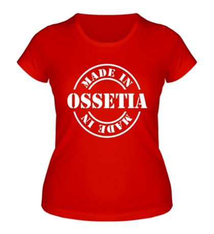 Женская футболка Made in Ossetia