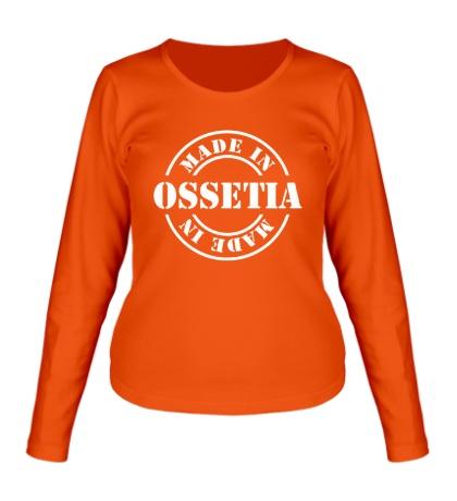 Женский лонгслив Made in Ossetia