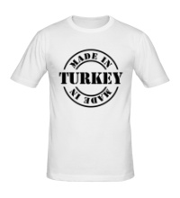 Мужская футболка Made in Turkey