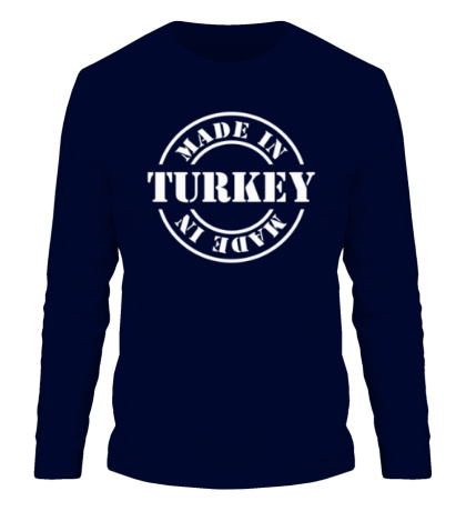 Мужской лонгслив Made in Turkey