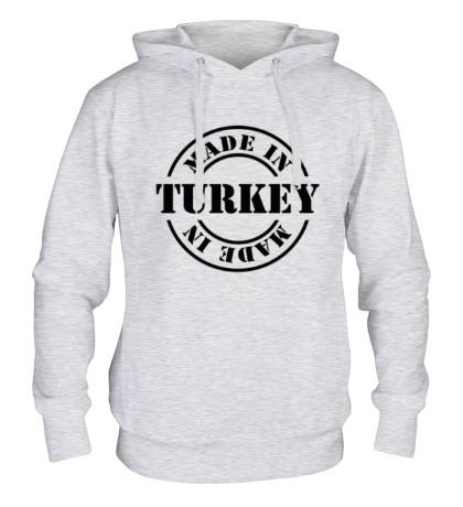 Толстовка с капюшоном Made in Turkey