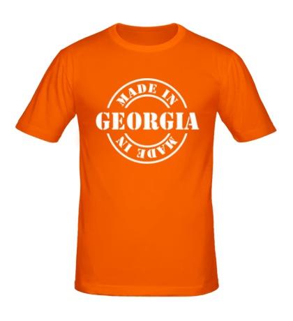 Мужская футболка Made in Georgia
