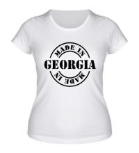 Женская футболка Made in Georgia