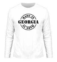 Мужской лонгслив Made in Georgia