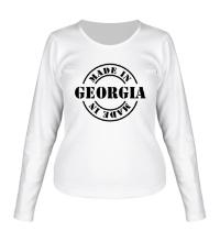Женский лонгслив Made in Georgia