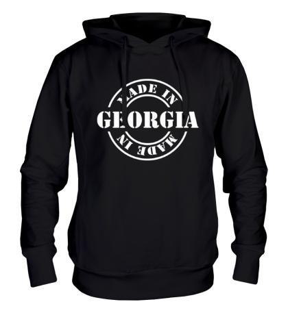 Толстовка с капюшоном «Made in Georgia»