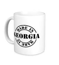 Керамическая кружка Made in Georgia
