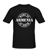 Мужская футболка Made in Armenia