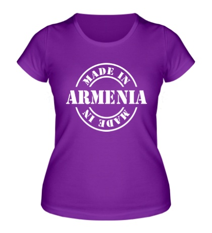 Женская футболка Made in Armenia