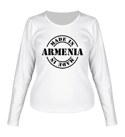Женский лонгслив Made in Armenia