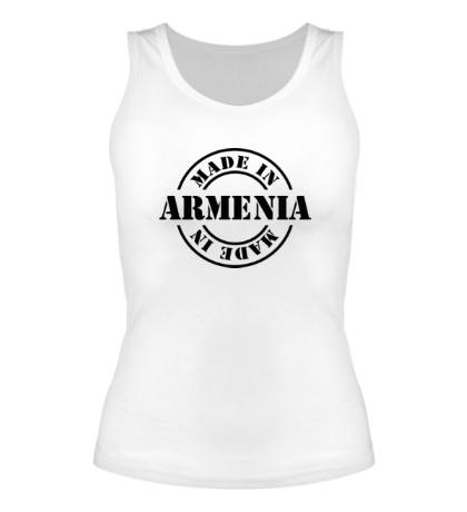 Женская майка Made in Armenia
