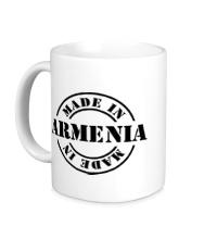 Керамическая кружка Made in Armenia