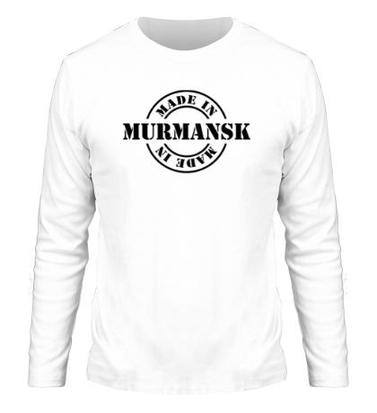 Мужской лонгслив Made in Murmansk